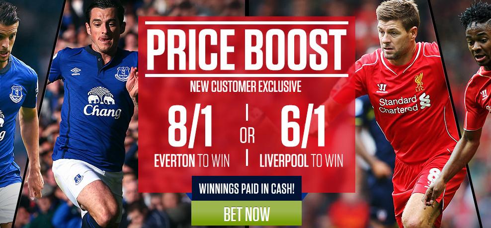 Price boosts Everton v Liverpool