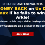 Cheltenham day 1 Arkle betting tips