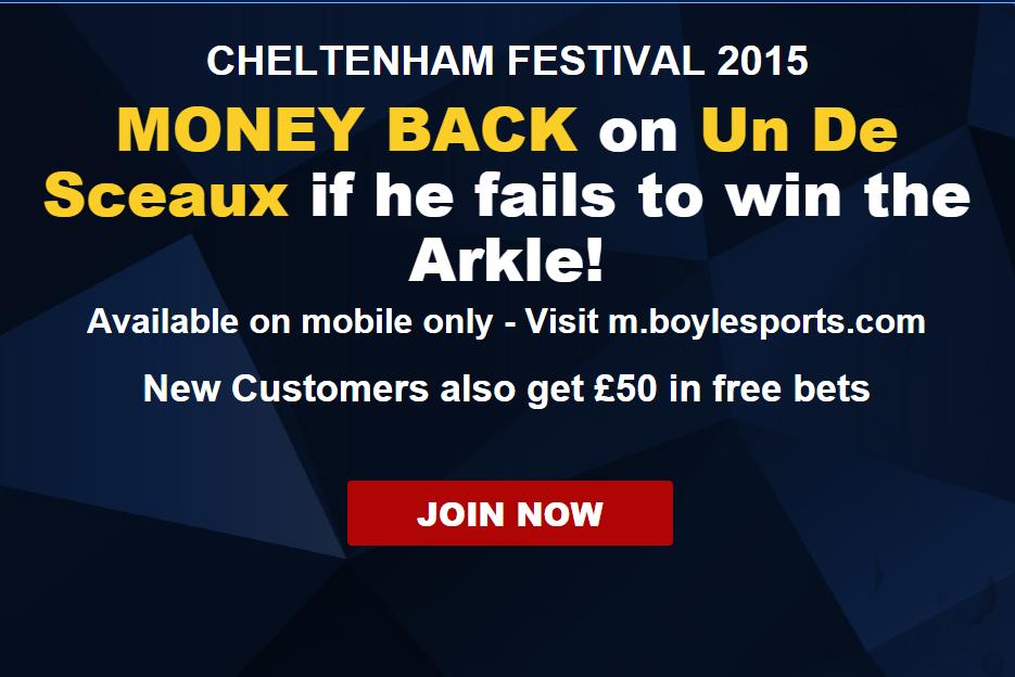 Cheltenham day 1 Arkle betting tips