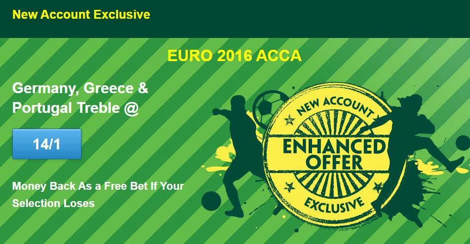 Euro 2016 qualifying accumulator