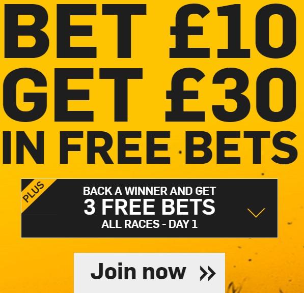 Betfair Cheltenham free bet