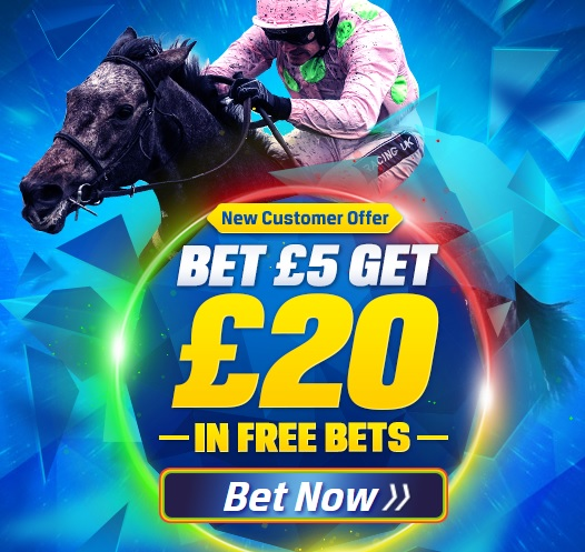 Coral bet £5 get £20 free
