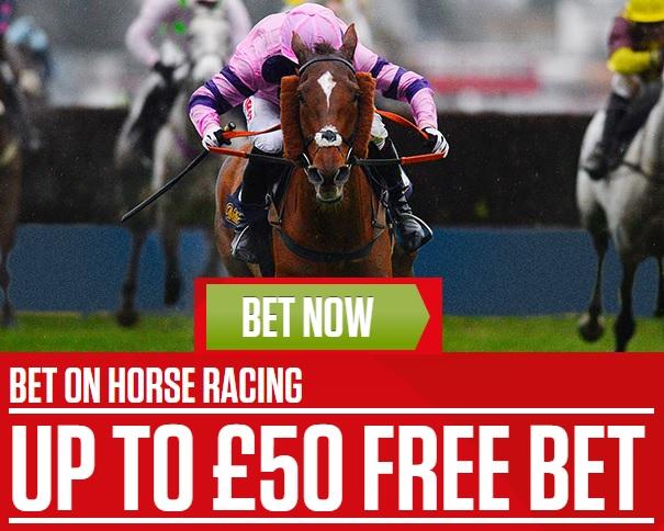 Ladbrokes free £50 bet