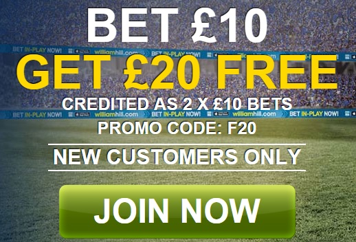 free bet William Hill
