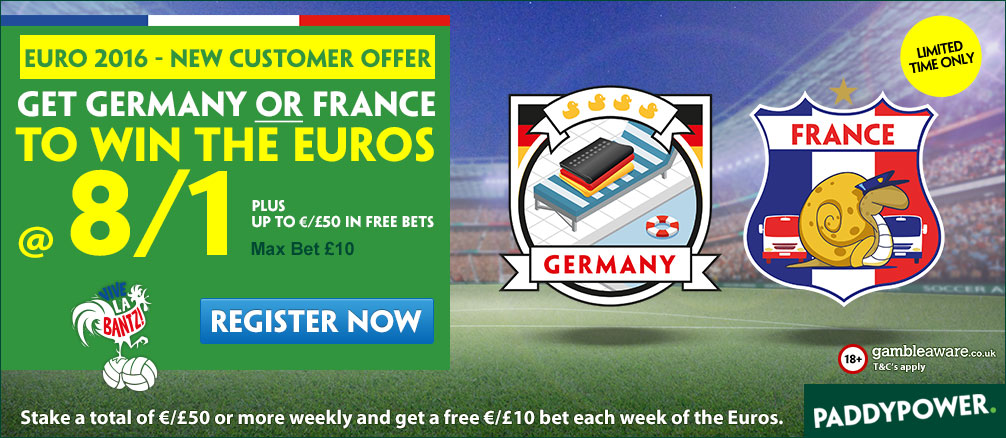 France betting tips Euro 2016