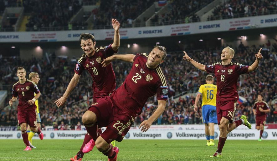Russia goal